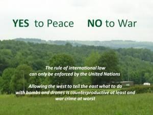 SoundBites No to War