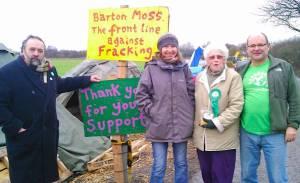 Charlotte at Barton Moss farck-free camp