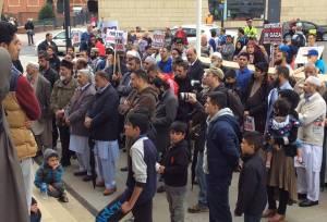 Gaza demo Aug 14 Derby