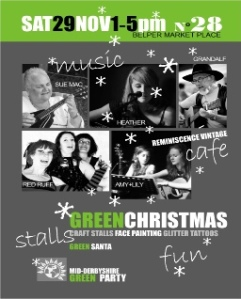 Come and Celebrate a 'Green' Christmas'
