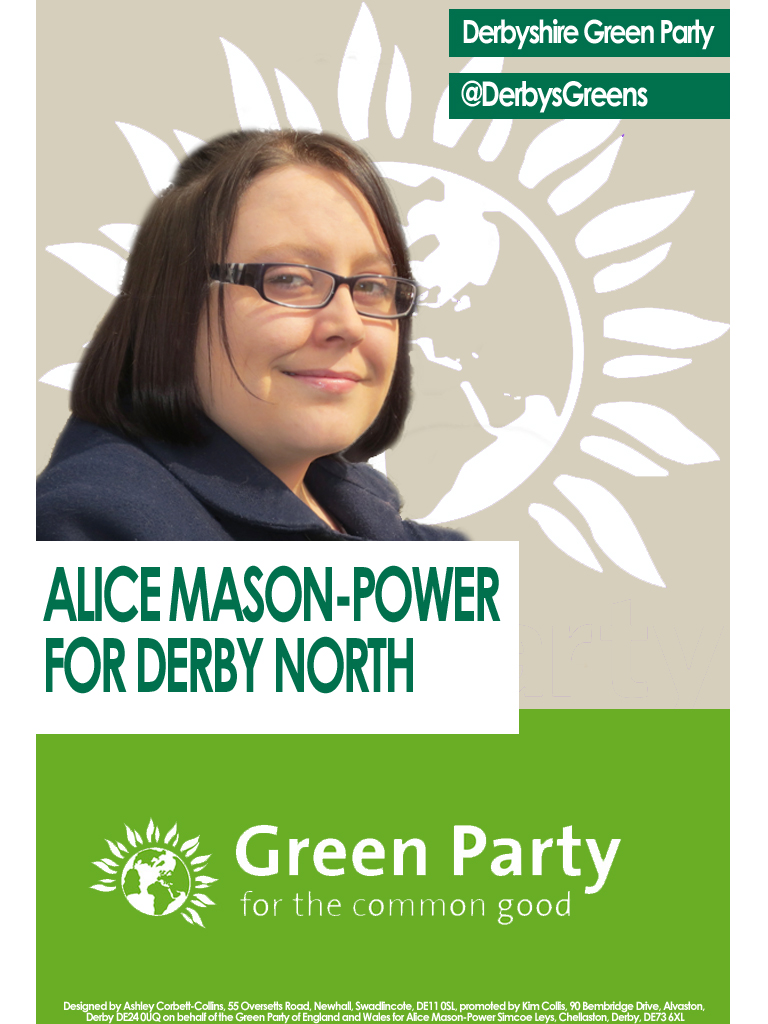 green party flyer